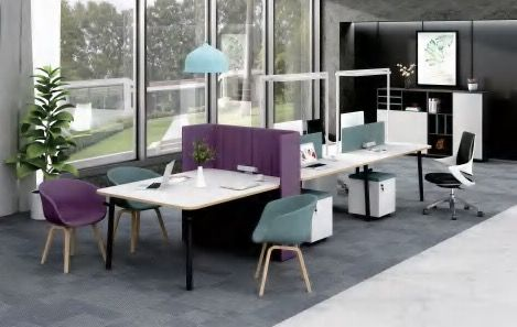 Combination office desk work stations COCO-HYZ-003