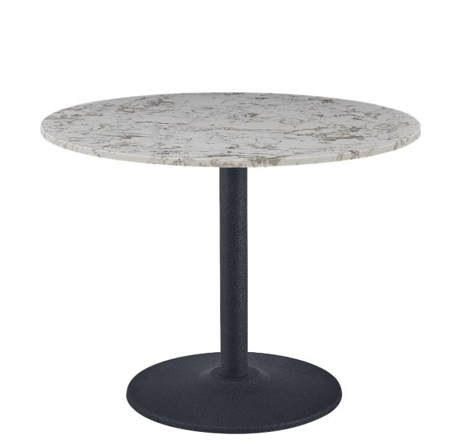 Round Pantheon Dining Table - Black Leg 100cm